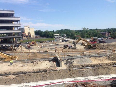 10 City Point Under Construction